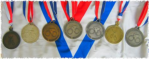 National Championship Medals