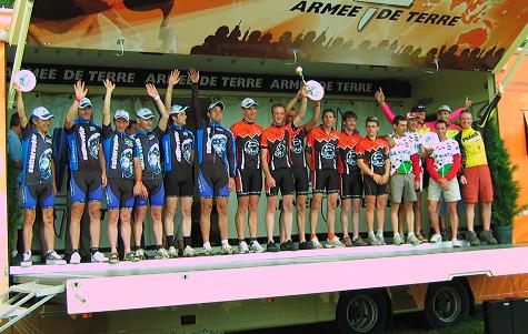 24hrs de VTT Bonnac podium 2009