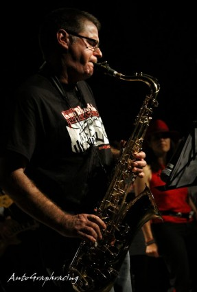 Andy Roxburgh on Saxes