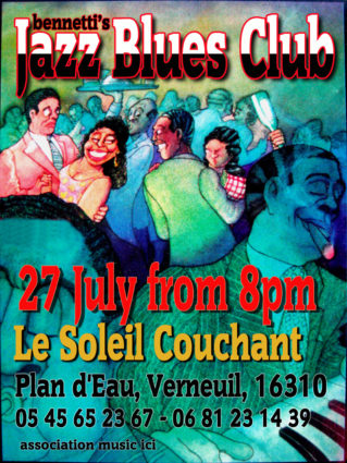 Jazz n Blues Club July 2017 session