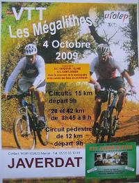 Les Megalithes - Javerdat