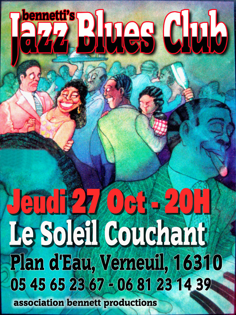 Bennettis Jazz n Blues Club October 2016