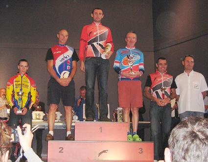 St Junien Podium 2nd Cats Sept 2009