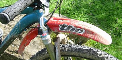 THE Industries front mudguard - the best there is.