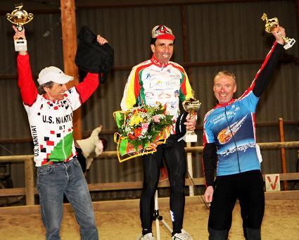 Regional VTT Championships podium