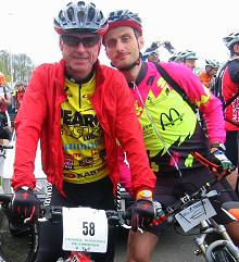 On the start line of the 2008 GTL