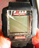 My battered old Polar Sports Tester