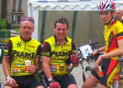 Ben Pete and Me after stage 1