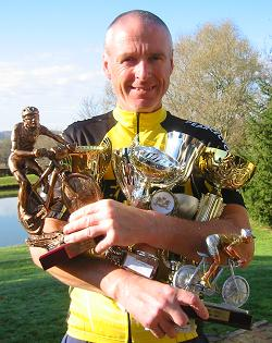 Me with this years trophies.