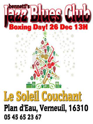 Boxing Day Jazz n Blues