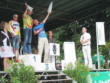 la limosine 2008 podium