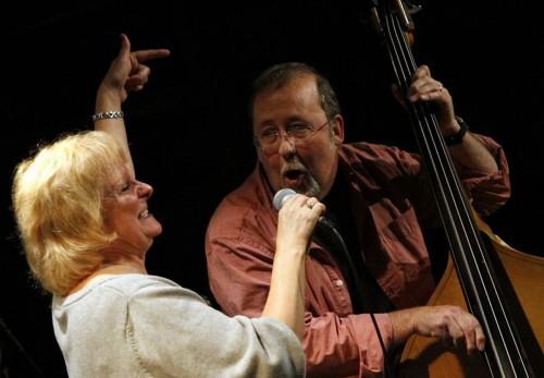 Lynn Garner and Brad Lang