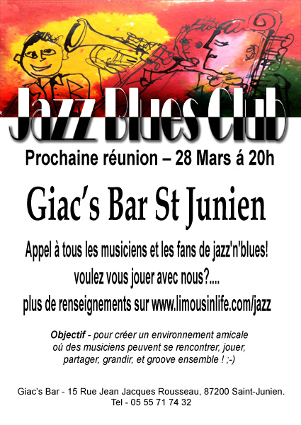 Jazz Club 28 march
