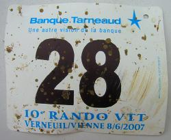 My race number