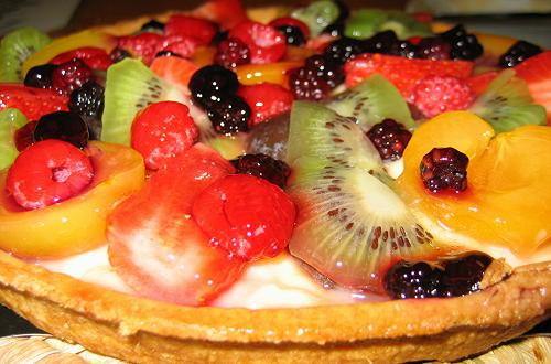 A delicious French tart