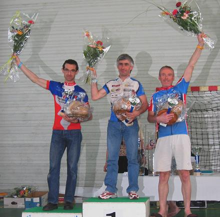vets podium - that is me on the right