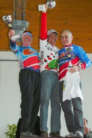 Vet B podium - Haute Vienne VTT Championships 2009